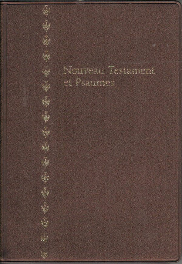 French New Testament & Psalms-Colombe-0