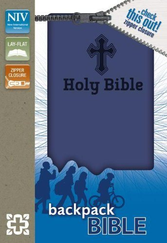 NIV Backpack Bible with zipper-0