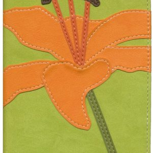 NIV Bloom Collection Bible - Compact / Tiger lily-0