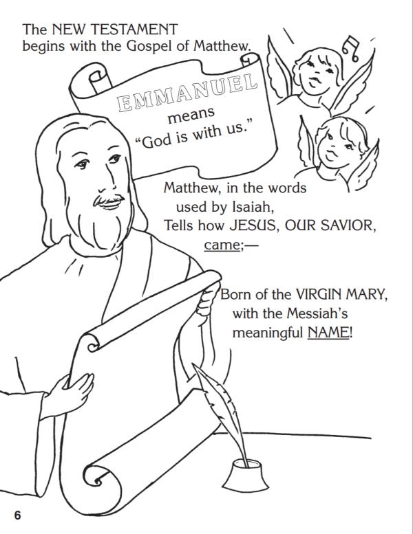 christmas coloring book catholic