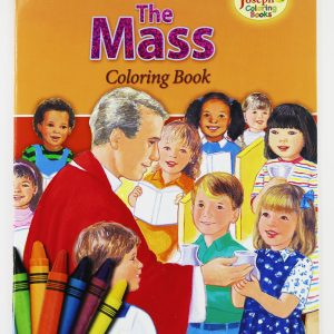 Coloring Book about The Mass-0