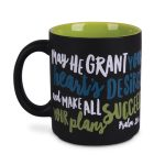 Ceramic Mug-Graduate Success-Black-0