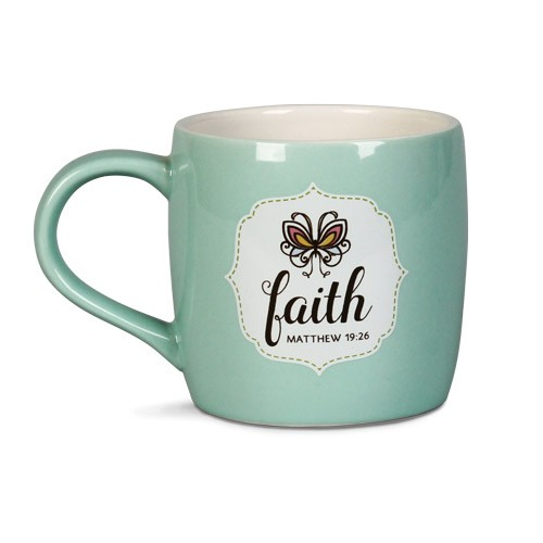 FILLED WITH FAITH CERAMIC MUG-0
