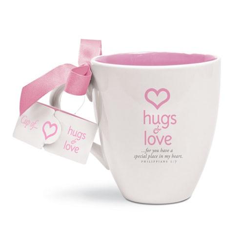 HUGS & LOVE MUG-0