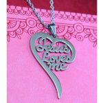 JESUS LOVES ME HEART NECKLACE-0