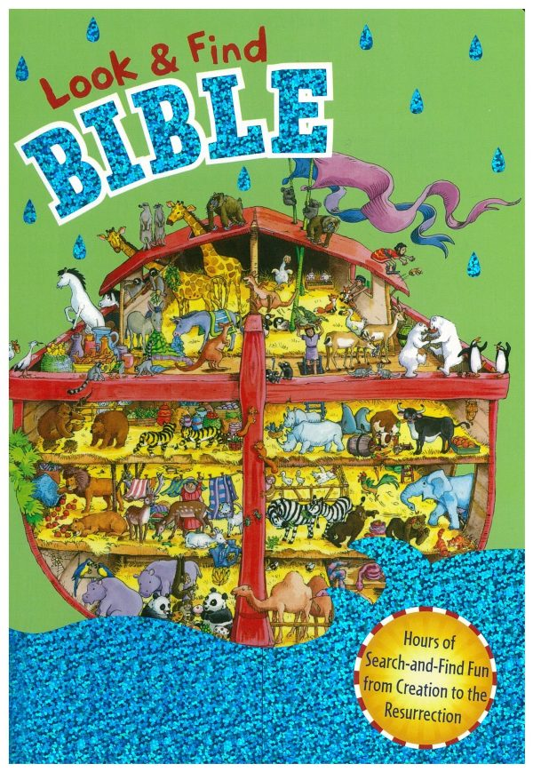 LOOK AND FIND BIBLE BOARD BOOK-0
