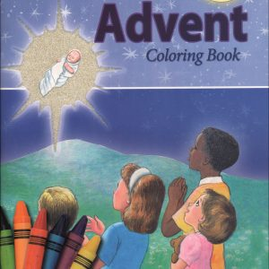 COLORING BOOK ABOUT ADVENT 690-0