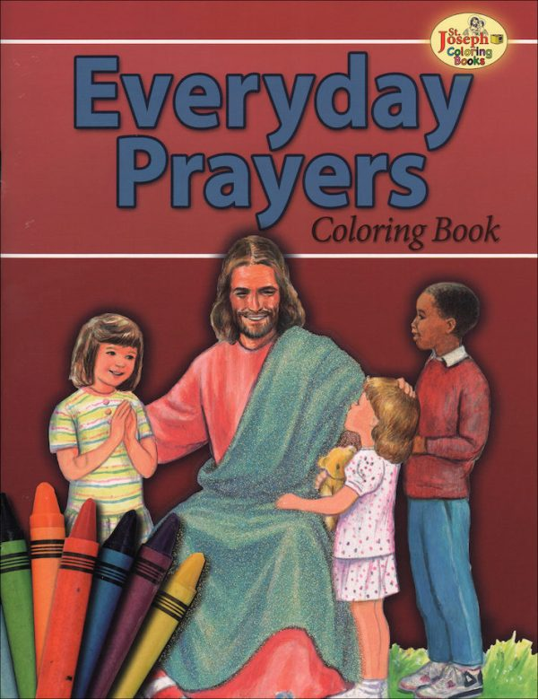COLORING BOOK ABOUT EVERYDAY PRAYERS 691-0