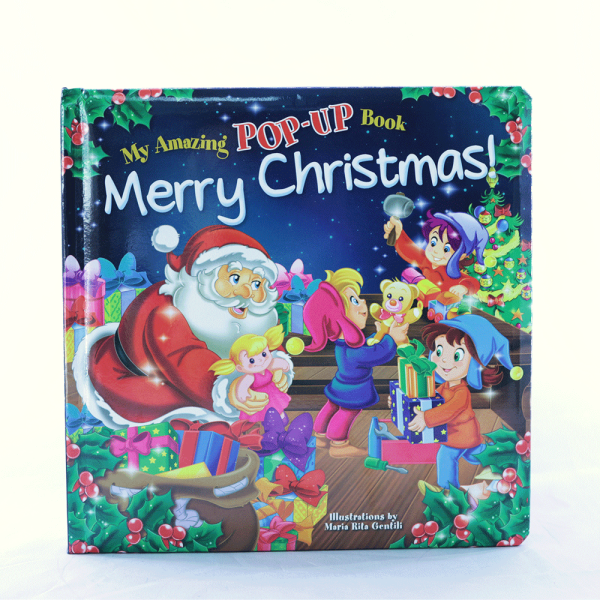 Merry Christmas Pop-up book rg10325-0