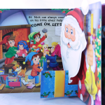 Merry Christmas Pop-up book rg10325-5605