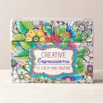 CREATIVE EXPRESSIONS COLORING CARDS-0