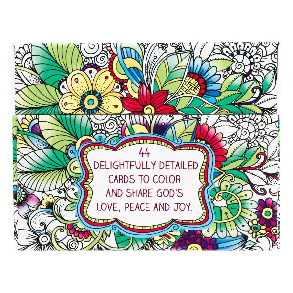 CREATIVE EXPRESSIONS COLORING CARDS-5643