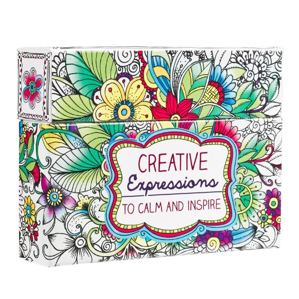 CREATIVE EXPRESSIONS COLORING CARDS-5644